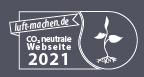 Die Webseite der Kindertagespflege Baden-Baden ist CO2 neutral!